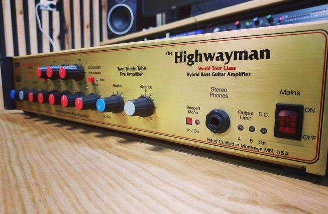 Eden WT-500 Highwayman bass amp