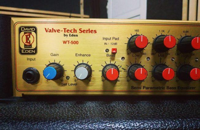 Eden WT-500 Highwayman bass amp1