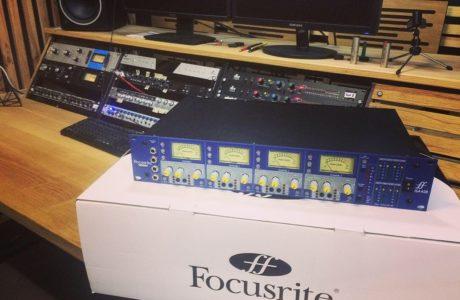 Новий мікрофонний підсилювач Focusrite ISA 428