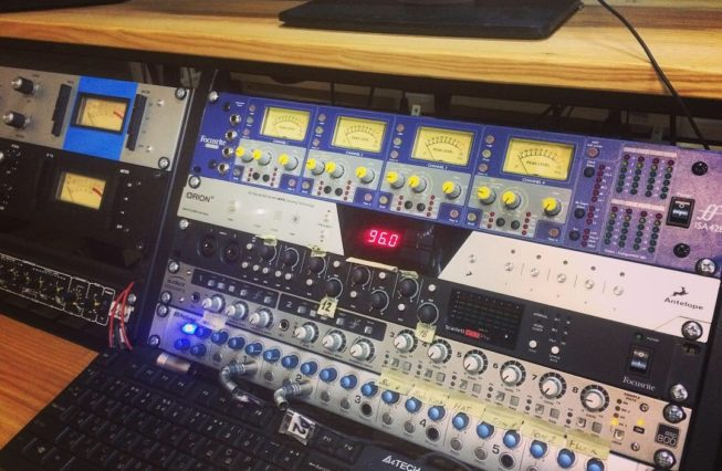 Focusrite ISA 428 in rack