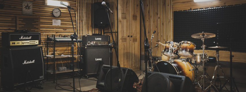 Rehearsal rooms