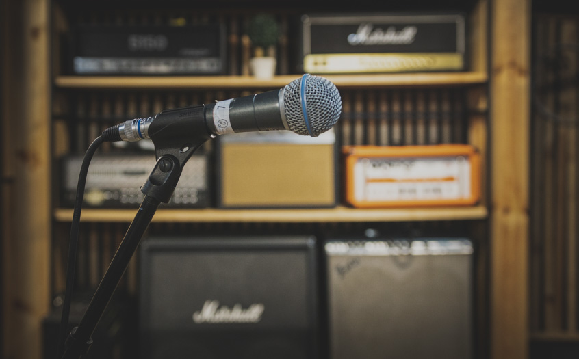 Права кімната мікрофон