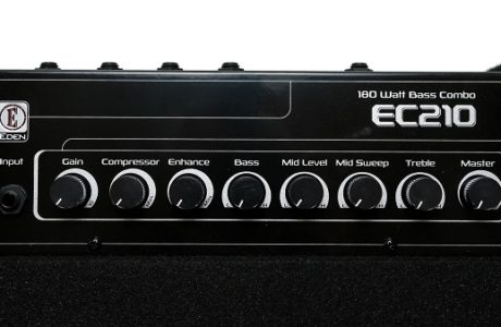 Басовий комбік Eden EC210 – нове поповнення студії Checkpoint