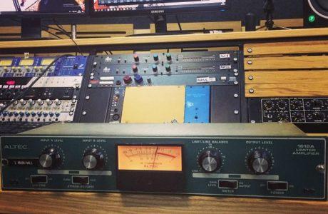 Вінтажний преамп Altec 1612A став новим доповненням студії