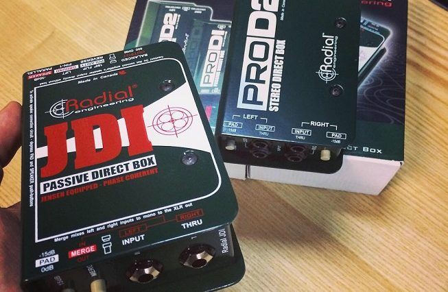 Radial JDI & ProD2 di boxes