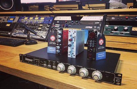 Нове студійне обладнання приїхало зі США: Distressor, Rupert Neve