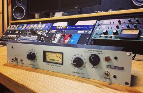 Klark Teknik KT2A – ламповий компресор у нас на студії