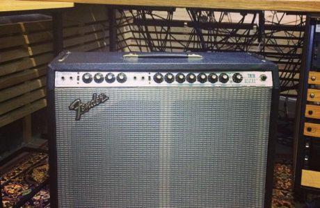 Fender Twin Reverb 1975 року – легенда гітарного звуку на нашій студії
