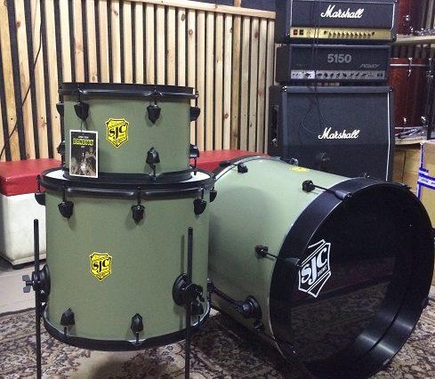 SJC Custom Drums Josh Dun Bandito Kit
