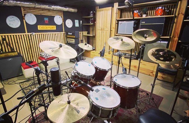 Drum cover recording