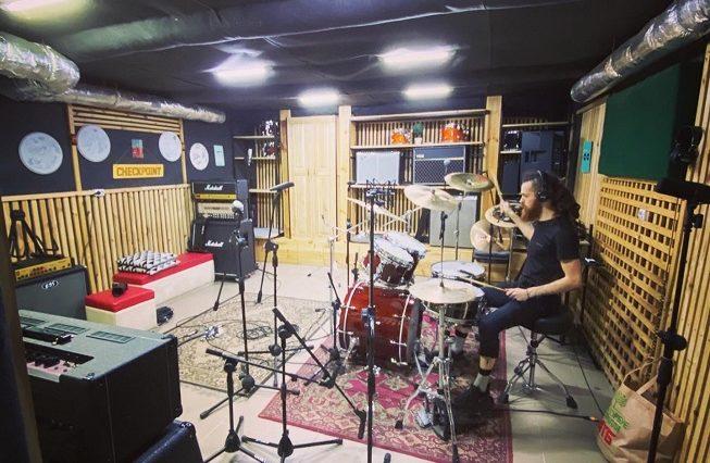 Drum cover recording2