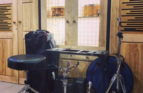 Барабанне обладнання Tama приїхало для студії та школи