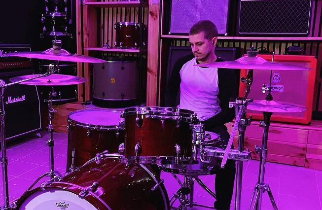 Grayshapes band drum playthrough