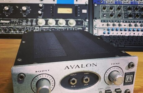 Avalon U5 Preamp DI з'явився на студії Checkpoint