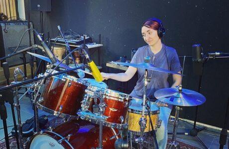 Запис гурту Miles Babies на студії звукозапису Checkpoint