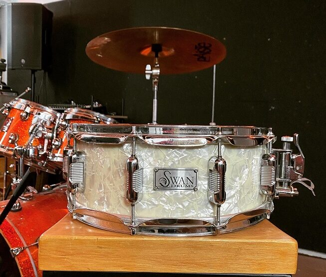 Swan Drums – вінтажний малий барабан з 70х років